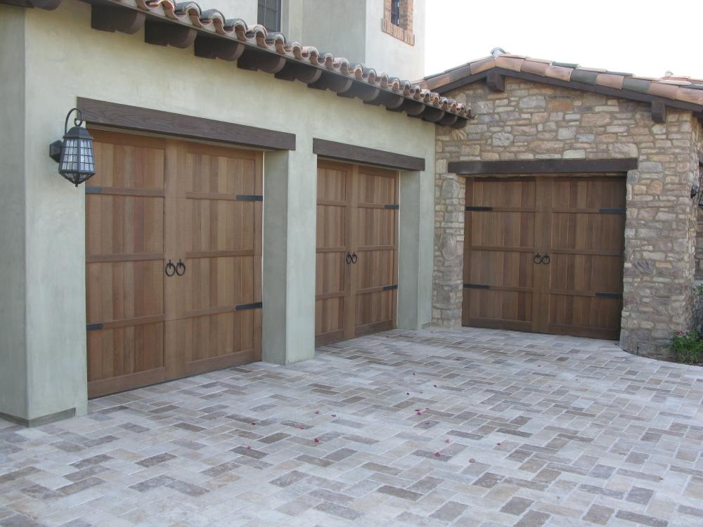 Cedar Wood Garage Doors Wood Overhead Garage Doors Cedar