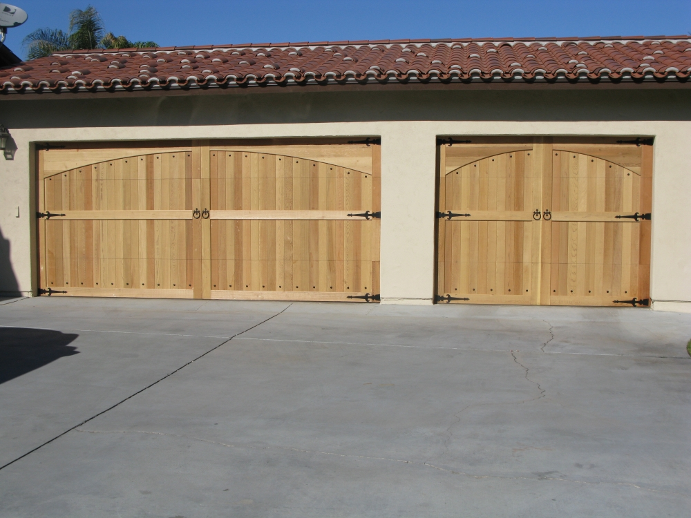 Cedar Wood Garage Doors Wood Overhead Garage Doors Cedar