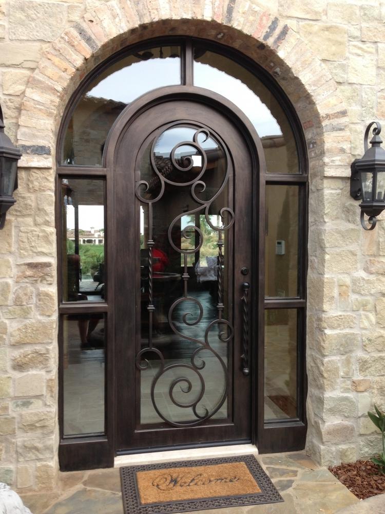 Wrought Iron Doors Iron Security Doors Bronze Doors