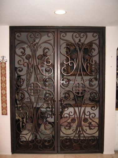 Wrought Iron Doors, Iron Security Doors, Bronze Doors, Decorative Iron Doors, Custom Iron Doors