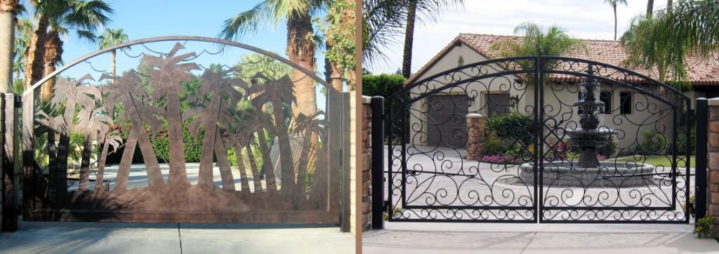 Driveway doors modern metal gate i
