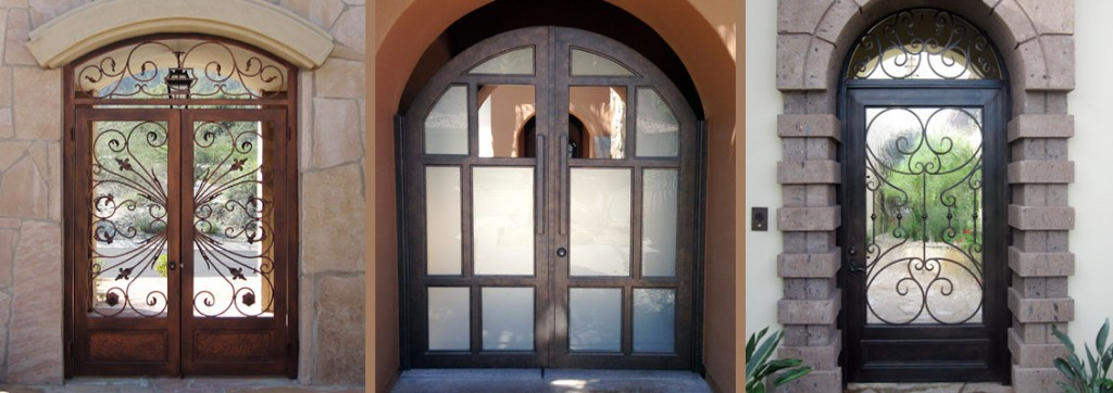 Tremblay ... & Iron Doors Custom Wrought Iron Gates u0026 Railings